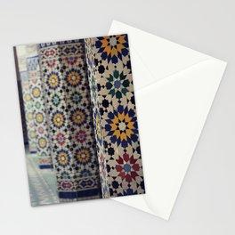 Flower Columns Stationery Cards