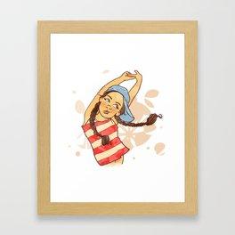 chipie Framed Art Print