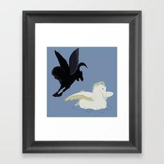 Fantasia's pegasus Framed Art Print