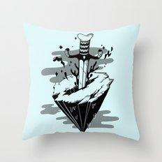 Releasing Dark Matter Throw Pillow