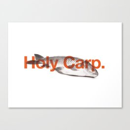 Holy Carp. Canvas Print