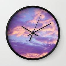 Dreamy Clouds Wall Clock