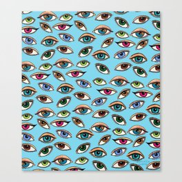 Eye Am Watching You Always Canvas Print