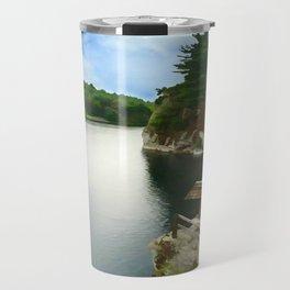 Majestic Mohonk Lake Travel Mug