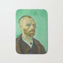Self Portrait (dedicated to Paul Gauguin) Bath Mat