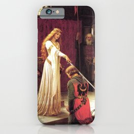 Knight of Excalibur iPhone Case