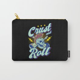 Crust And Roll Pizza Funny Gift Carry-All Pouch