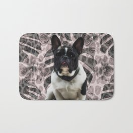 Frenchie Bath Mat