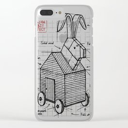 Trojan plan Clear iPhone Case