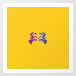 Thief Eyes Art Print