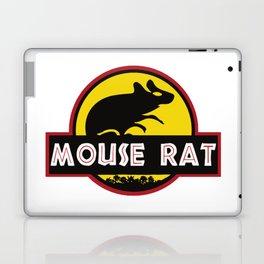 mouse rat logo jurasic parody Laptop & iPad Skin