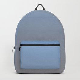Gradient Blend Pantone 2021 Color of the Year Ultimate Gray 17-5104 and Placid Blue 15-3920 Backpack