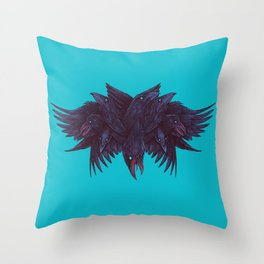 Crowberus Reborn Throw Pillow