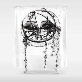 Straps Shower Curtain