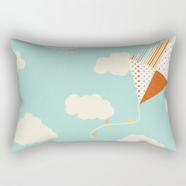 Let's go Fly a Kite Rectangular Pillow
