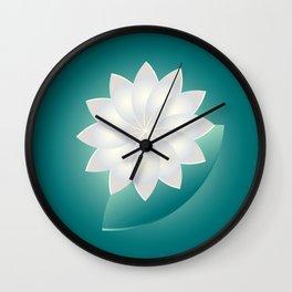 Pearl and Jade Wall Clock