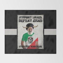 Stop The Iran Deal Throw Blanket