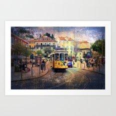 Lisbon 6 Art Print