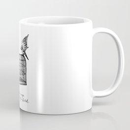 Franz Kafka - Cage in Search of a Bird Coffee Mug