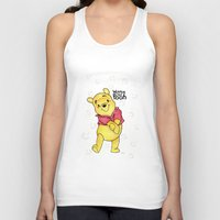 pooh Tank Tops featuring Winnie the Pooh by laura nye.