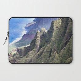 Hawaii's BREATHTAKING Na Pali Coastal Cliffs Laptop Sleeve