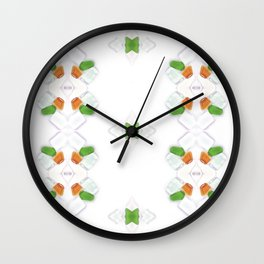 Sea Glass 15 Wall Clock