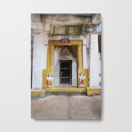 India Doors Metal Print