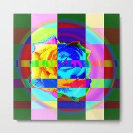 Sweet chaos-rose Metal Print