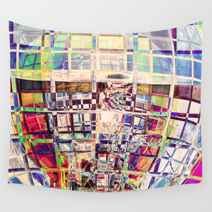 Spectral Structure Wall Tapestry
