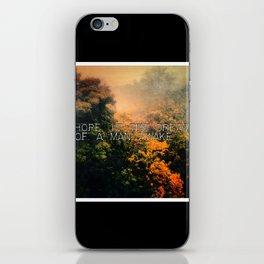 Hope in the Mist iPhone Skin