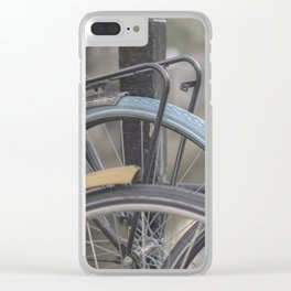 Netherlands Bikes Clear iPhone Case