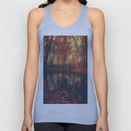 Where are you? Autumn Fall - Autumnal forest Unisex Tank Top