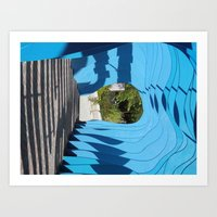 At the End of the Tunnel Art Print