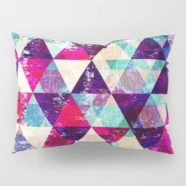 "Retro Geometrical Abstract Design ""Josephine"" inspired Pillow Sham"