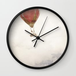 Just Married - Going Home Wall Clock