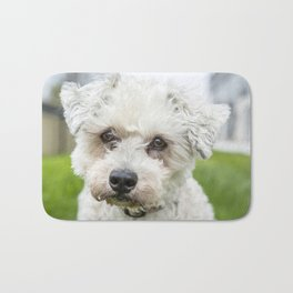 Old Dogs See Into Your Soul Bath Mat