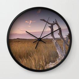 Newtown Sunset Wall Clock