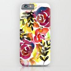 Violet Roses iPhone 6s Slim Case