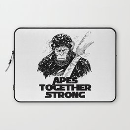 Caesar: Apes Together Strong Laptop Sleeve