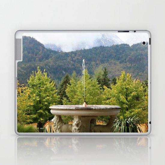 Fountain in the Mountains Laptop & iPad Skin
