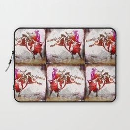 Bull Rider Tuff Laptop Sleeve