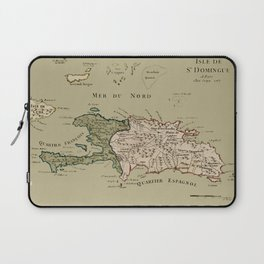 Map Of Hispaniola 1767 Laptop Sleeve