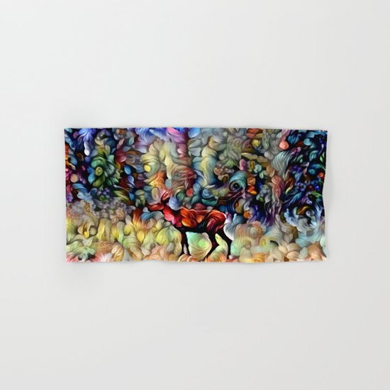 Dreamy Caribou Hand & Bath Towel