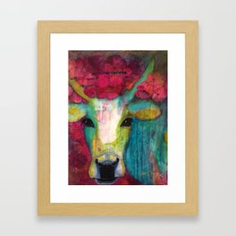 Cow III Framed Art Print