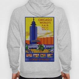 Vintage Chicago World's Fair 1933 Hoody