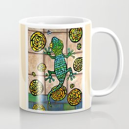 Mosaic Lizard Coffee Mug