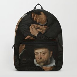 Pieter Pietersz I - Six Wardens of the Drapers' Guild Backpack
