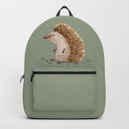 Hedgie Has a Sit Down Backpack