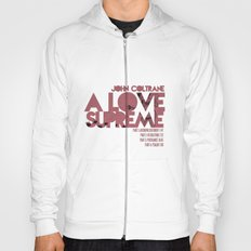 A Love Supreme - John Coltrane / Album Cover Art LP Poster  Hoody