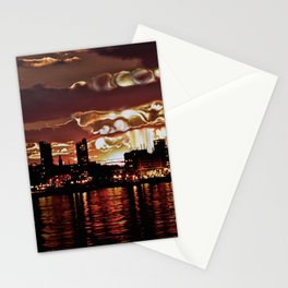 Angry Sunset. Stationery Cards
